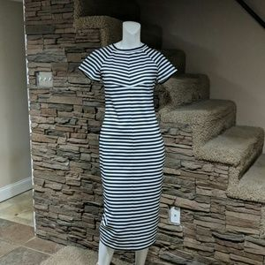 The Fifth striped dress size medium nwt